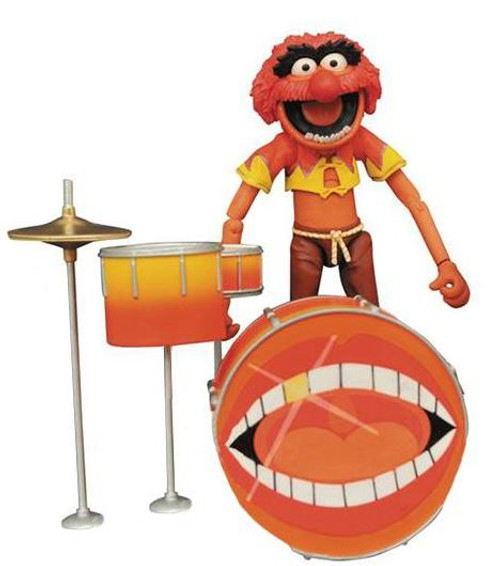 The Muppets Select Series 2 Animal With Drum Kit Action Figure