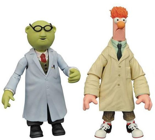 The Muppets Select Series 2 Bunsen Honeydew & Beaker Action Figure