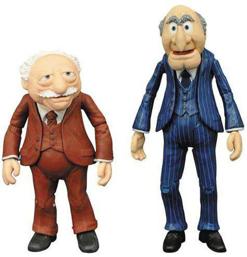 The Muppets Select Series 2 Statler & Waldorf Action Figure