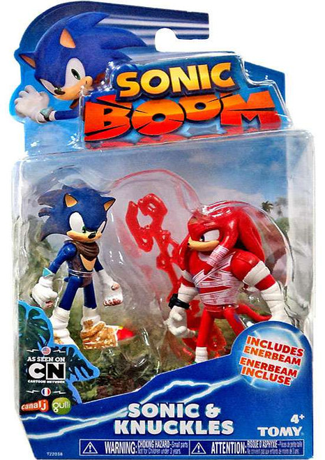 Sonic The Hedgehog Sonic Boom Sonic (Dirty) & Knuckles (Bruised) Action Figure 2-Pack