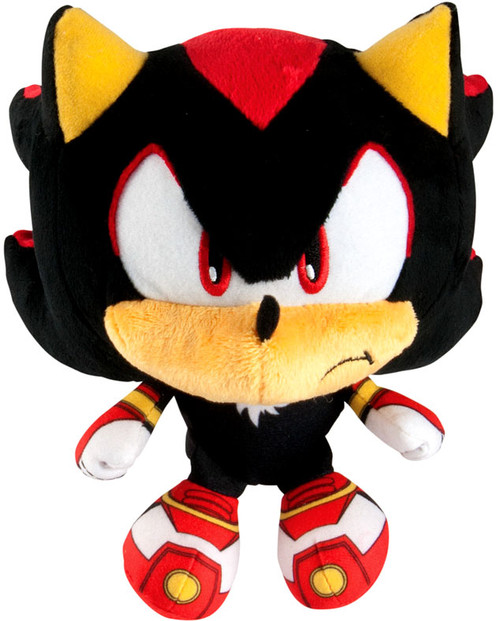 Sonic The Hedgehog Sonic Boom Shadow Super Deformed 6-Inch Plush