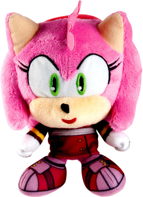 Sonic The Hedgehog Sonic Boom Amy Super Deformed 6-Inch Plush