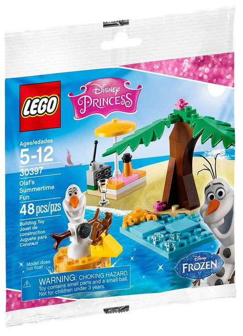 LEGO Disney Princess Frozen Olaf's Summertime Fun Set #30397 [Bagged]