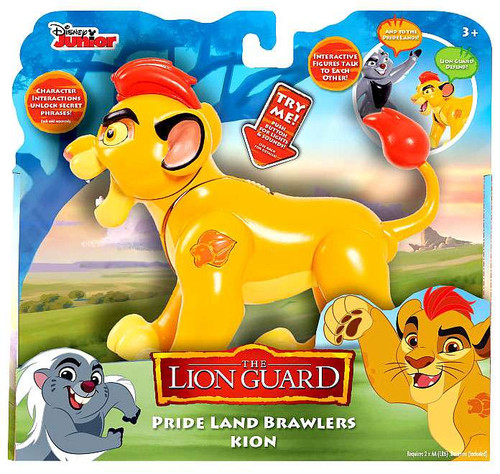 Disney The Lion Guard Pride Land Brawlers Kion Interactive Action Figure