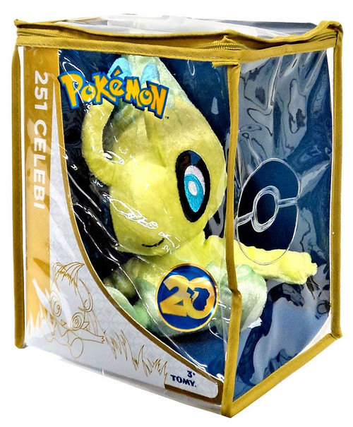 Pokemon 20th Anniversary Celebi Exclusive 8-Inch Plush