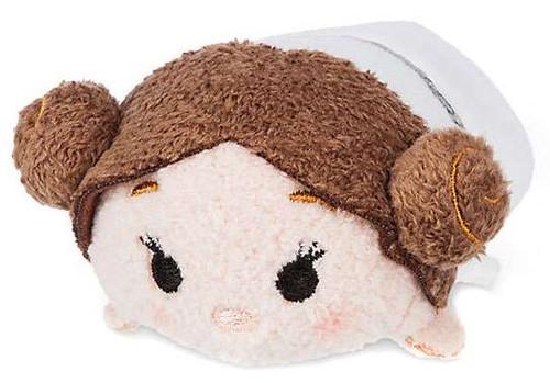Disney Tsum Tsum Star Wars Princess Leia 3.5-Inch Mini Plush