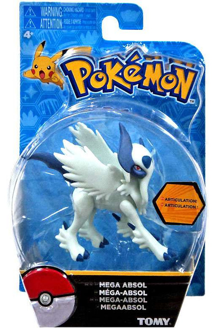 Pokemon Action Pose Mega Absol 3-Inch Mini Figure