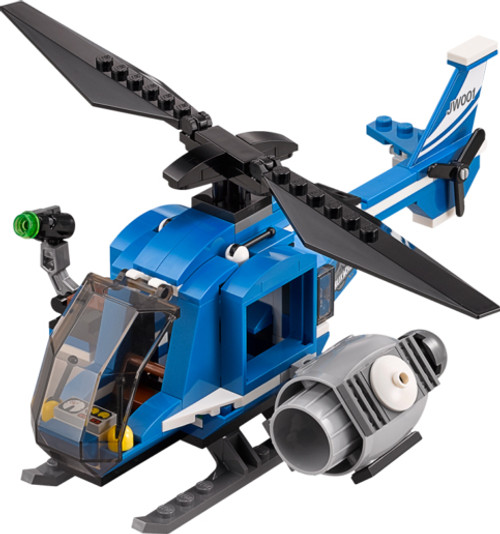 LEGO Jurassic World Blue & White Helicopter Loose Vehicle [Loose]