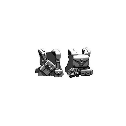 BrickArms Combat Vest WW2 US Ranger 2.5-Inch [Black]