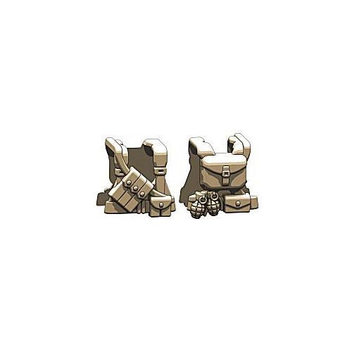 BrickArms Combat Vest WW2 US Ranger 2.5-Inch [Dark Tan]