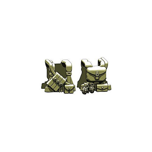 BrickArms Combat Vest WW2 US Ranger 2.5-Inch [Olive]