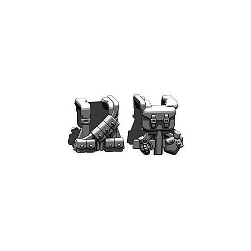 BrickArms Combat Vest WW2 US Rifleman 2.5-Inch [Black]
