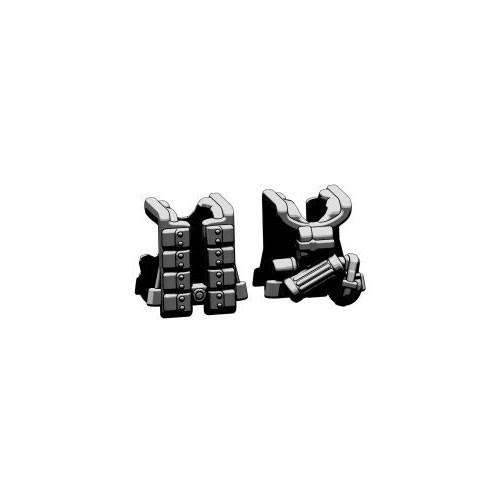 BrickArms Combat Vest WW2 German Paratrooper 2.5-Inch [Black]