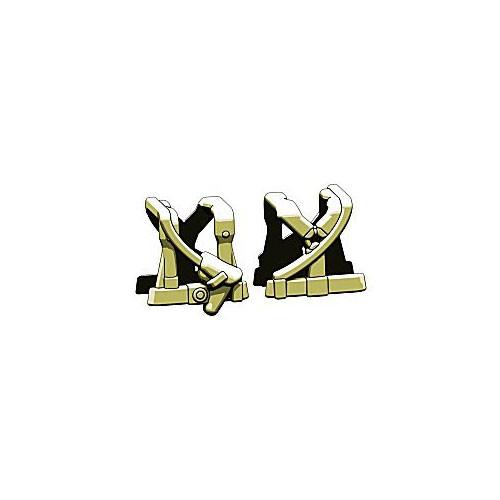 BrickArms Combat Vest WW2 German Command 2.5-Inch [Olive]
