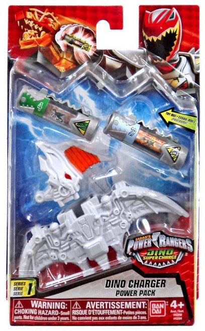 Power Rangers Dino Super Charge Series 1 White Dino Charger Power Pack #43264