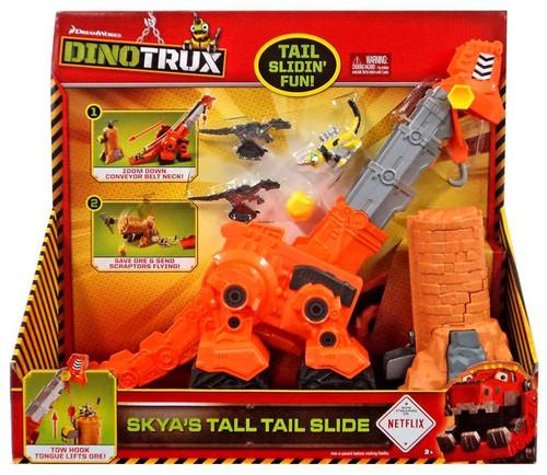 Dinotrux Skya's Tall Tail Slide Playset