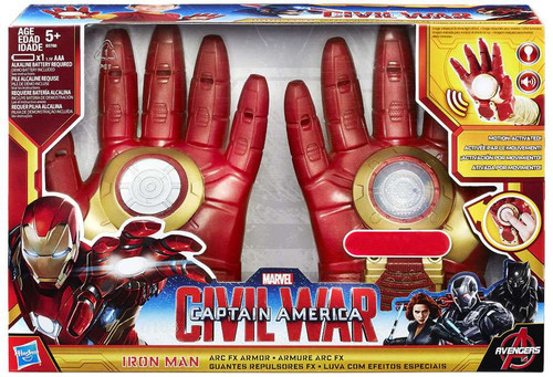 Captain America Civil War Iron Man Arc FX Armor Exclusive Roleplay Toy