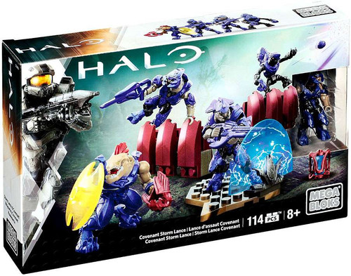 Mega Bloks Halo Covenant Storm Lance Set #25421