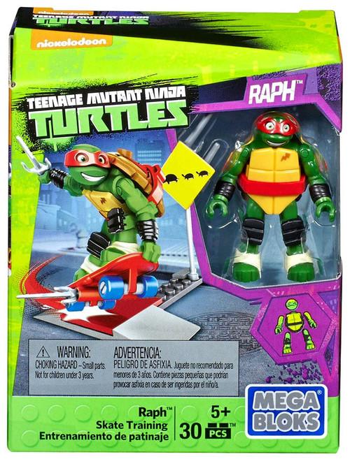 Mega Bloks Teenage Mutant Ninja Turtles Animation Raph Skate Training Set #29018