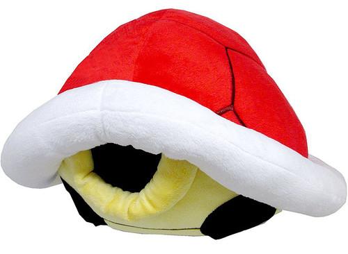 Super Mario Bros Red Koopa Shell 15-Inch Plush Pillow