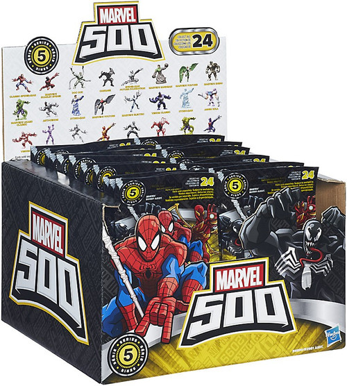 Marvel 500 Micro Series 5 Mystery Box [24 Packs]