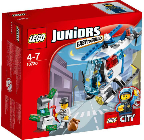 LEGO City Juniors Police Helicopter Chase Set #10720