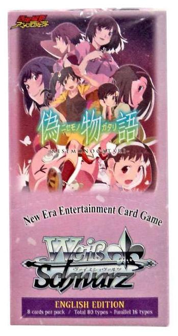 Weiss Schwarz Nisemonogatari Booster Box [20 Packs]