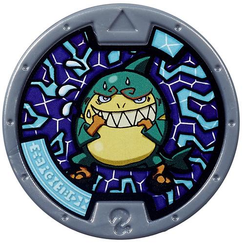 Yo-Kai Watch Series 1 Shrook Medal [Loose]