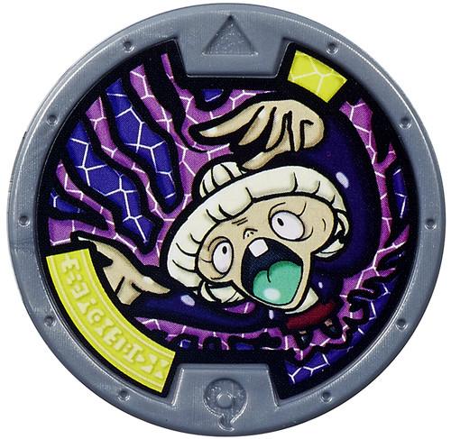 Yo-Kai Watch Series 1 Tattletell Medal [Loose]