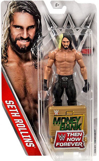 WWE Wrestling Then Now Forever Seth Rollins Exclusive Action Figure [Money in the Bank]