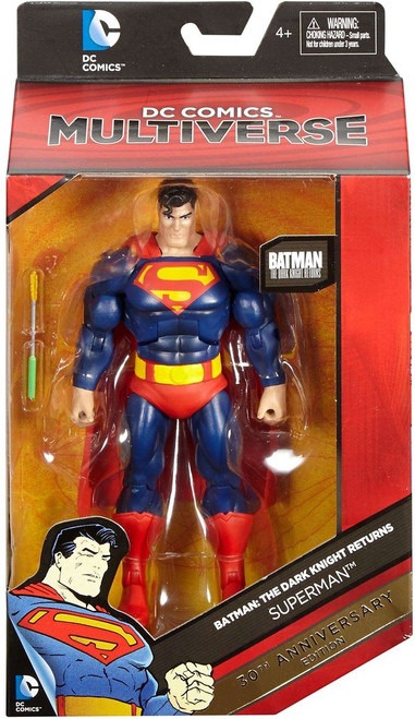 DC Batman: Dark Knight Returns Multiverse Superman Action Figure [30th Anniversary Edition]