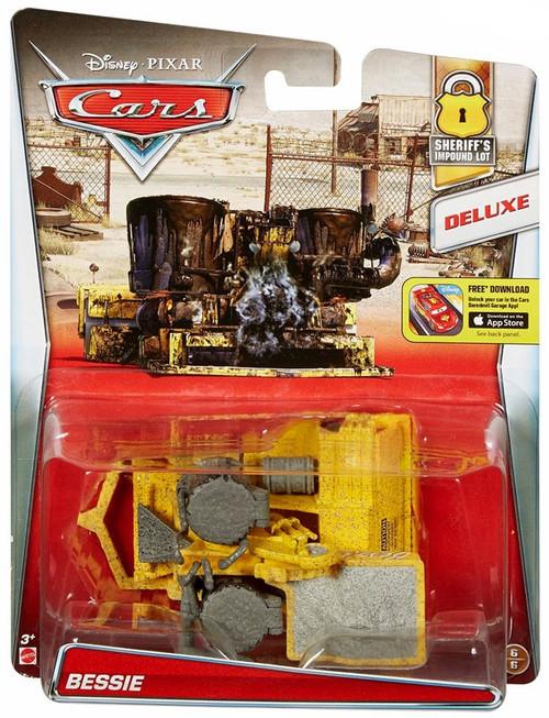 Disney / Pixar Cars Sheriff's Impound Lot Bessie Diecast Car #6/6