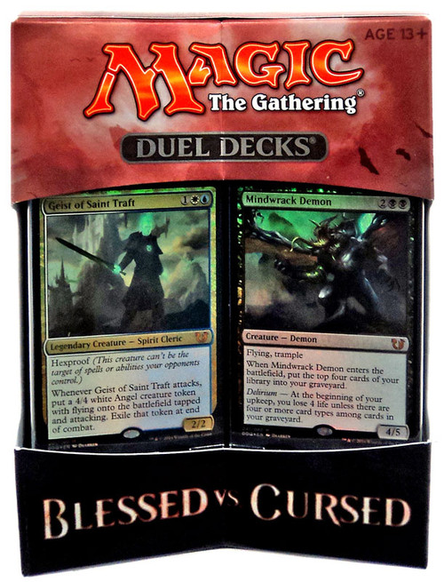 MtG Trading Card Game Blessed vs Cursed Duel Decks