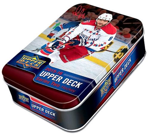 NHL 2015-16 Series 2 Hockey Trading Card Collector Tin