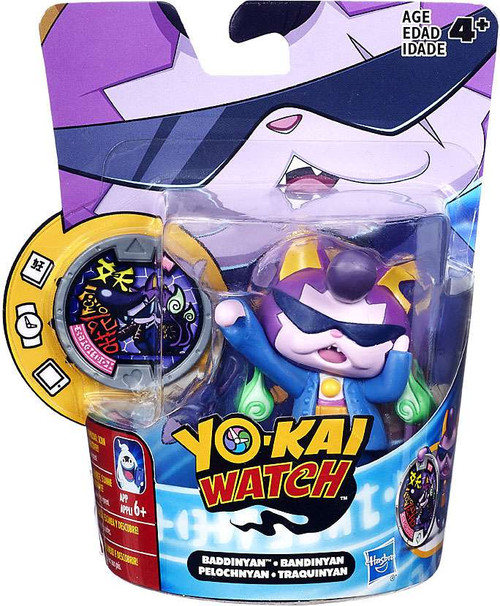 Yo-Kai Watch Medal Moments Baddinyan Mini Figure