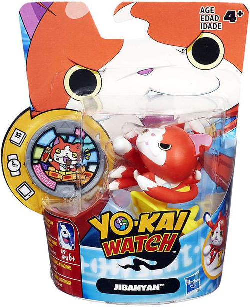 Yo-Kai Watch Medal Moments Jibanyan 100 Punch Mini Figure