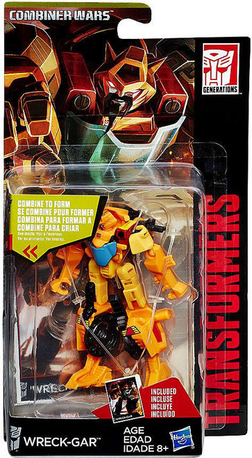 Transformers Generations Combiner Wars Wreck-Gar Legend Action Figure