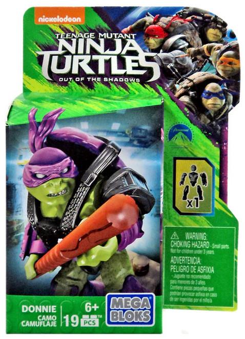 Mega Bloks Teenage Mutant Ninja Turtles Out of the Shadows Donnie Set [Camo]