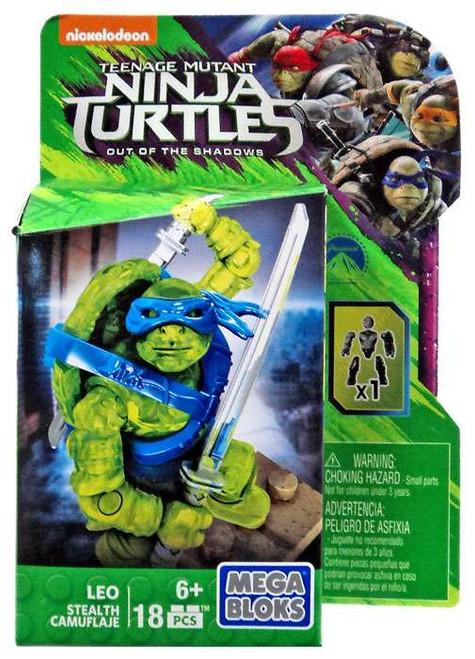 Mega Bloks Teenage Mutant Ninja Turtles Out of the Shadows Leo Set DPW13 [Stealth]
