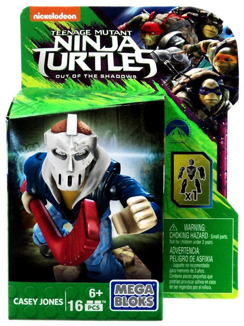 Mega Bloks Teenage Mutant Ninja Turtles Out of the Shadows Casey Jones Set DPW15