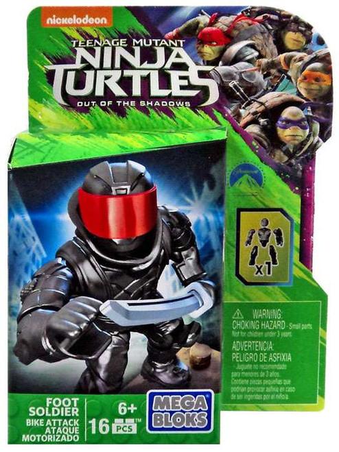 Mega Bloks Teenage Mutant Ninja Turtles Out of the Shadows Foot Soldier Set DPW16 [Bike Attack]