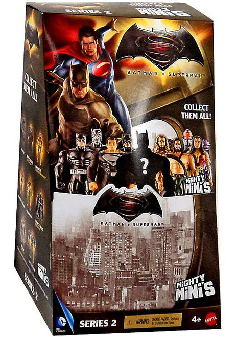 Batman v Superman Mighty Minis Series 2 Mystery Box [36 Packs]