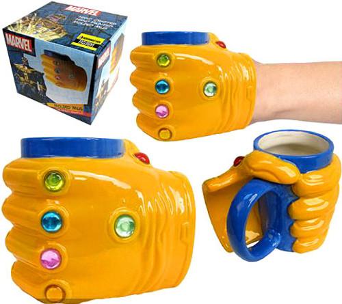 Marvel Thanos Infinity Gauntlet Molded Mug [16 oz.]