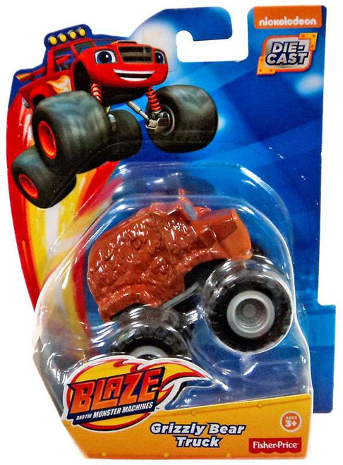 Fisher Price Blaze & the Monster Machines Grizzly Bear Truck Diecast Car