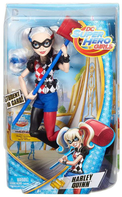 DC Super Hero Girls Harley Quinn 12-Inch Deluxe Doll
