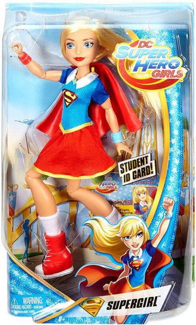 DC Super Hero Girls Supergirl 12-Inch Deluxe Doll
