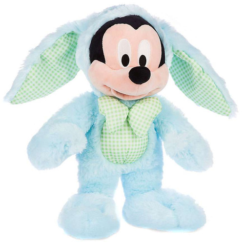 Disney 2016 Easter Mickey Mouse Exclusive 12.5-Inch Medium Plush [Light Blue Bunny Costume]