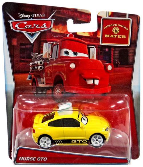 Disney / Pixar Cars Rescue Squad Mater Nurse GTO Diecast Car