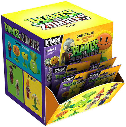 K'NEX Plants vs. Zombies Series 1 Mystery Box [48 Packs]