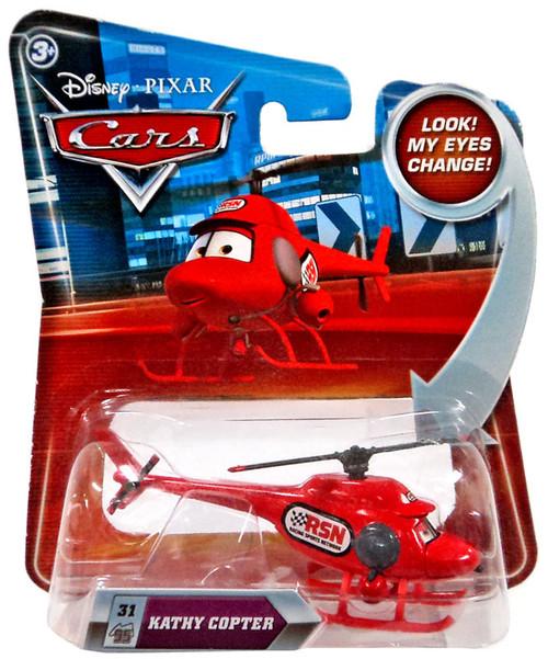 Disney / Pixar Cars Lenticular Eyes Series 2 Kathy Copter Diecast Car